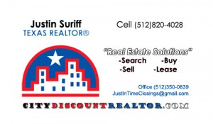 Justin Suriff City discount REALTORS real estate contact