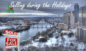 Selling Texas Real estate during the holidays