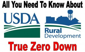 USDA ZERO DOWN FINANCING in TEXAS