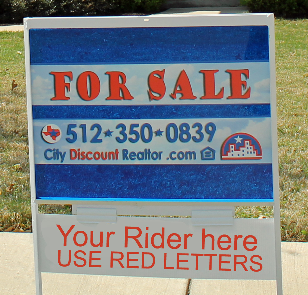 city discount realtor sign example